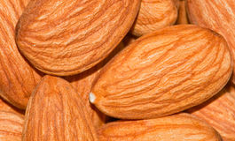 Whole Almonds Stock Photos