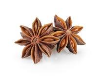 Whole anise stars Royalty Free Stock Photo