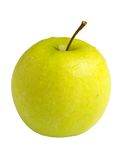 Whole Apple, isolated Royalty Free Stock Photography