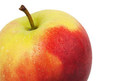 Whole apple Royalty Free Stock Photography