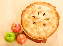 Whole Apple Pie Royalty Free Stock Photography