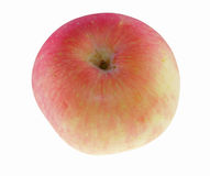 Whole apple on the table. S Royalty Free Stock Image
