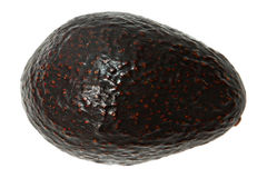 Whole Avocado Above View Stock Photos