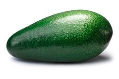 Whole avocado fuerte Persea americana, paths Stock Photos
