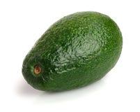 Whole avocado isolated on white background close-up Royalty Free Stock Photography