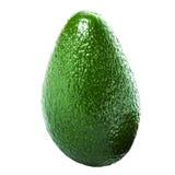 Whole Avocado isolated on white background. Fresh green Avocado Stock Image