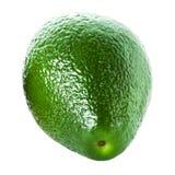 Whole Avocado isolated on white background. Fresh green Avocado Stock Photo