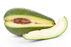 Whole avocado Stock Photos