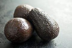 Whole avocados Stock Photos