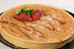 Whole Bakewell Pudding Stock Photography