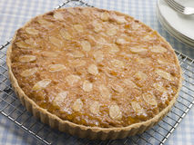Whole Bakewell Tart Royalty Free Stock Photos