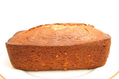 Whole banana bread level Royalty Free Stock Images