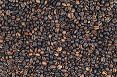 Whole bean coffee background Stock Image