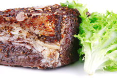 Whole beef chunk Stock Photos