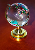 Whole big planet earth  small globe Royalty Free Stock Image