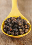 Whole black pepper Stock Photography