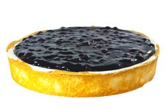 Whole blue berry cheese cake Royalty Free Stock Photos