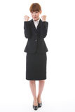 Whole body of a businesswoman Stock Photography