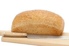 Whole bread Stock Photo