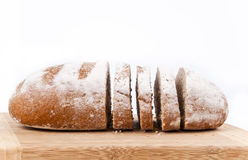 Whole bread slices Royalty Free Stock Photo