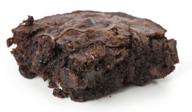 Whole brownie - angled Royalty Free Stock Photo