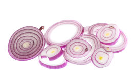 Whole bulb red onion Stock Image