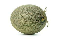 Whole cantaloupe melon Stock Photos