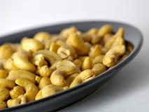 Whole Cashews Royalty Free Stock Images