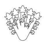 Whole celery icon Royalty Free Stock Photo