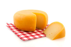 Whole cheese Royalty Free Stock Photo
