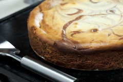 Whole Cheesecake Royalty Free Stock Image
