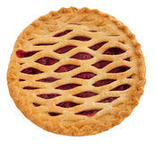 Whole cherry pie Royalty Free Stock Photo