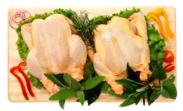Whole chicken Stock Images