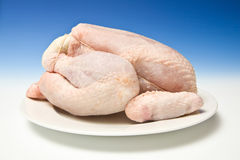 Whole Chicken Royalty Free Stock Image