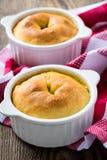 Whole chicken pot pie in ramekin Royalty Free Stock Photo