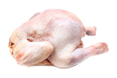Whole chicken raw Royalty Free Stock Image