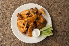 Whole Chicken Wings royalty free stock photo