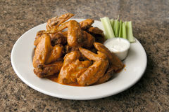 Whole Chicken Wings Stock Photos