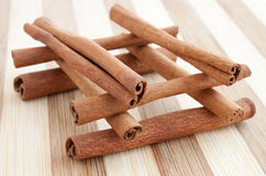 Whole cinnamon sticks Royalty Free Stock Photo