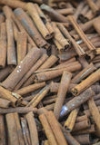 Whole cinnamon sticks Stock Photos