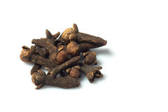 Whole cloves Stock Photo