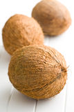 Whole coconuts Stock Photos