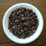 Whole Coffee Beans Stock Photography