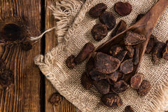 Whole Cola Nuts Royalty Free Stock Photography