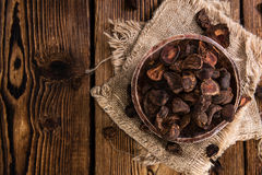 Whole Cola Nuts Stock Photo