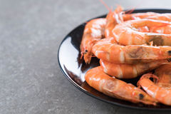 Whole Cooked Tiger Prawn Royalty Free Stock Photo
