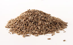 Whole cumin seeds Royalty Free Stock Photos