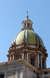The whole dome of san giuseppe dei teatini, palermo, sicily Stock Images
