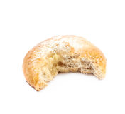 Whole donut bun pastry isolated Royalty Free Stock Photography