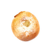 Whole donut bun pastry isolated Royalty Free Stock Image